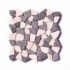 Mozaika z marmuru łamanego