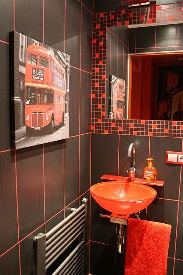 Konkurs Nasze Łazienki 2010 - lustro ozdobione ramą z płytek ceramicznych