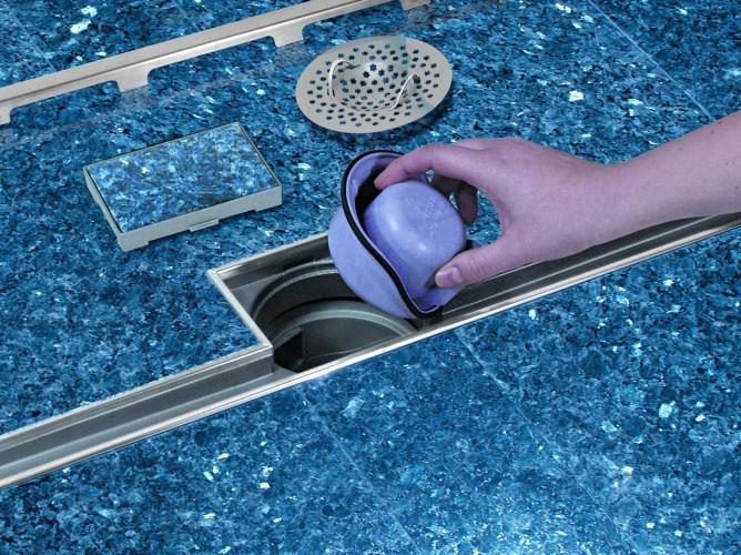 Kessel - łatwe czyszczenie odpływu LINEARIS