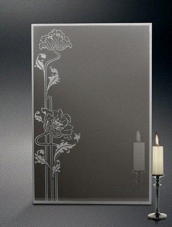 Wira - lustro łazienkowe zdobione