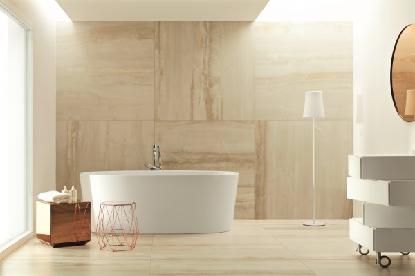 Wielkoformatowe Płytki W łazience Podłogi I ściany