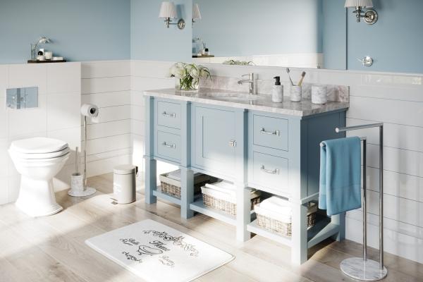 Naturalny trend w akcesoriach łazienkowych