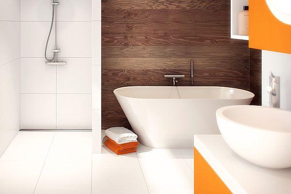 Odwodnienia prysznicowe - ekstra niski profil i suchy syfon