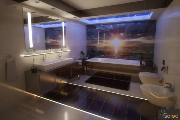Oświetlenie W Fugach Meble I Akcesoria Wszystko O łazienkach
