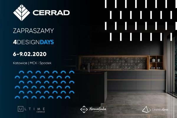 Cerrad zaprasza na Targi Cevisama i 4 Design Days!