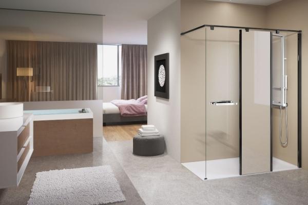 Łazienka przy sypialni - pomysły, projekty, aranżacje