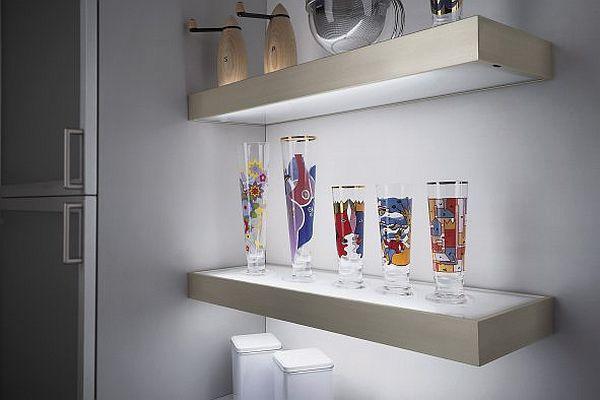 Podświetlana Półka Pomysł Na Urozmaicenie łazienki Meble