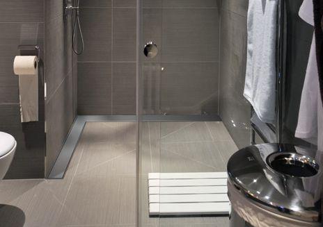 Odpływy prysznicowe narożne i łukowe - przegląd