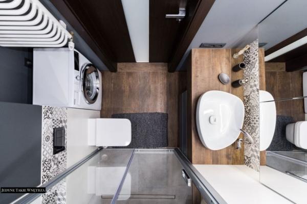 Bardzo mała łazienka - rozwiązania od projektantów