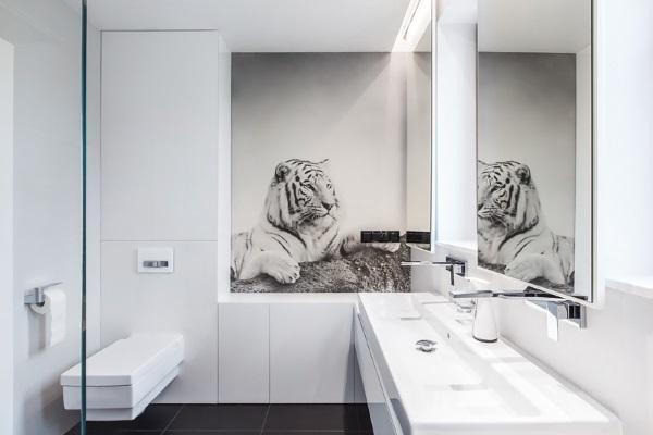 Dekoracje ścienne W łazience Podłogi I ściany Wszystko O