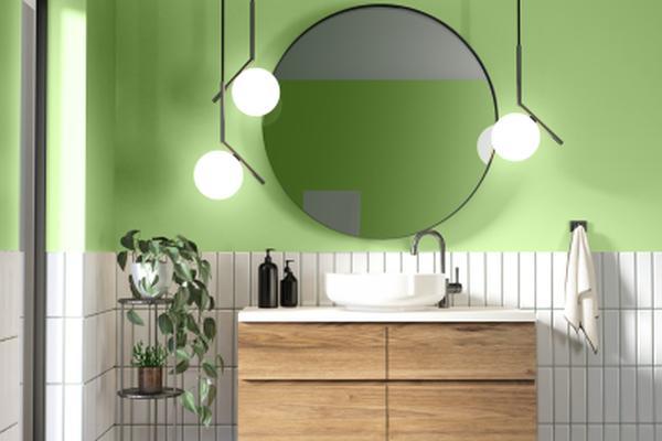 Zielona łazienka - pomysły na aranżację łazienki w kolorze zielonym