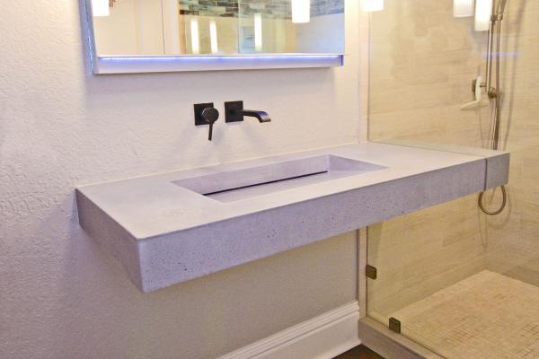 Luxum Beton Architektoniczny W łazience Podłogi I ściany