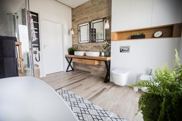 Naturalna łazienka - najświeższe trendy na 2020 rok