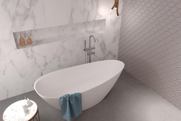 Wanny wolnostojące i umywalki Sanitti - bogactwo wzorów