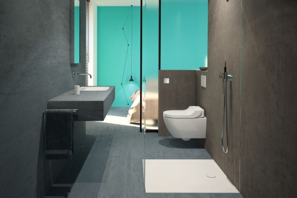 Nowoczesna łazienka Wielofunkcyjna Praktyczne Rozwiązania