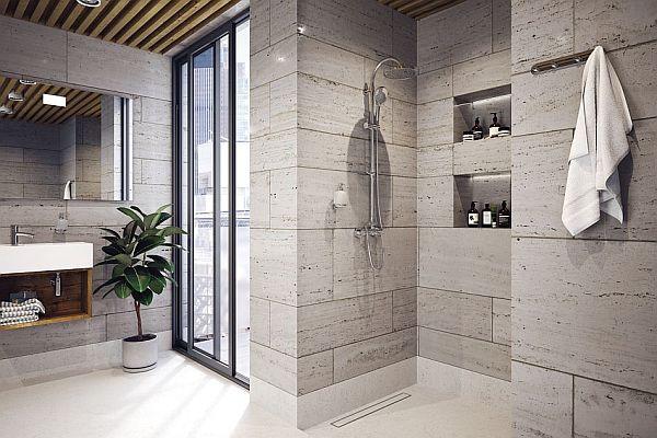 Strefa prysznicowa - pomysły na aranżacje
