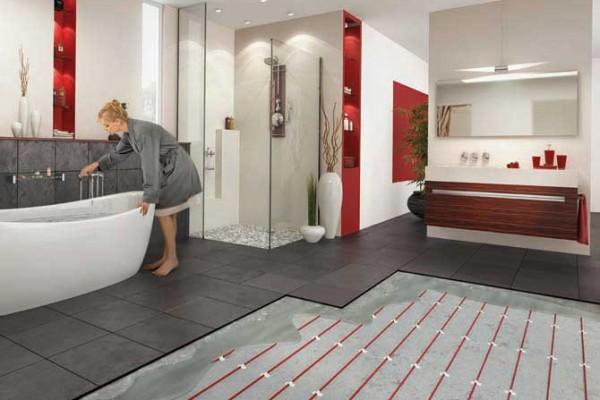 Ogrzewanie podłogowe w łazience