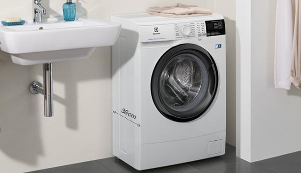 PerfectCare Slim - niewielka gabarytowo, lecz duża możliwościami pralka
