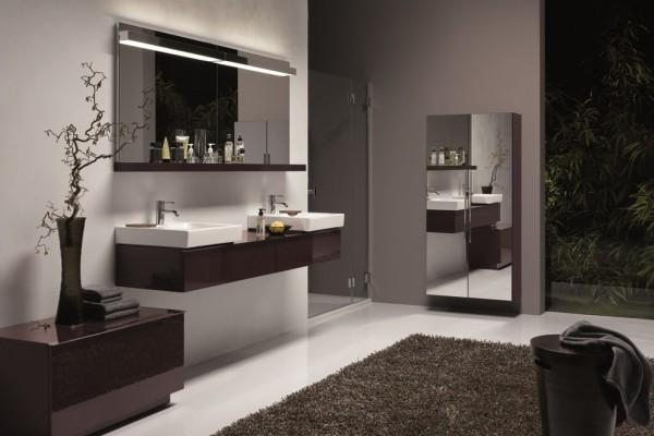 inspiracje minimalizmem w azience style w azience. Black Bedroom Furniture Sets. Home Design Ideas