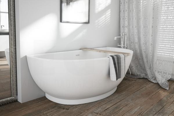 Wanna Wolnostojąca W Małej łazience Armatura łazienkowa