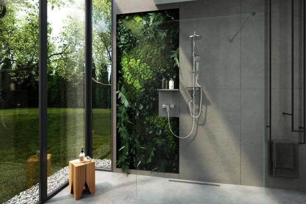 Odpływ liniowy- klucz do funkcjonalnej kabiny prysznicowej