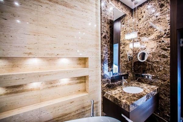 Kamień w łazience - hit czy kit?