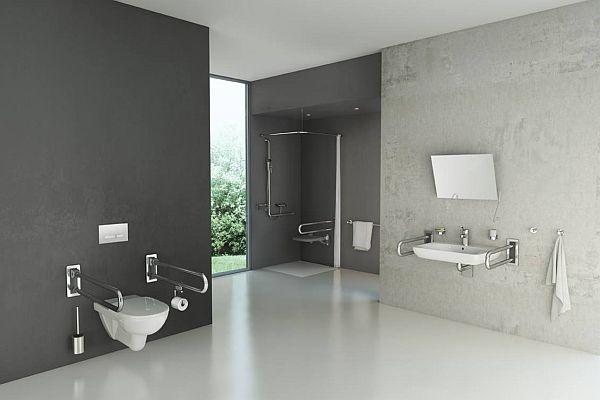 Rozwiązania do łazienki dla niepełnosprawnych - przegląd