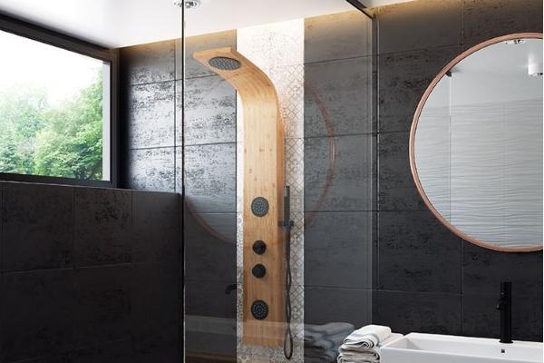 Bambusowy panel prysznicowy - hit w łazience