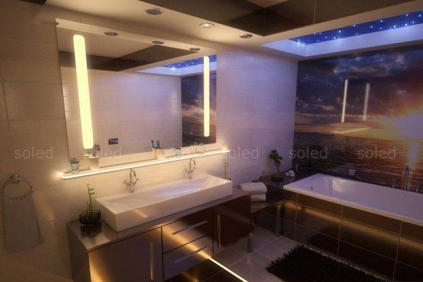 Nowoczesne Oświetlenie łazienki Meble I Akcesoria Wszystko