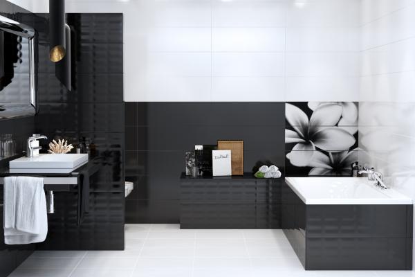 Ceramiczne Dekory ścienne W łazience Podłogi I ściany
