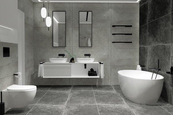 Ponadczasowe akcesoria łazienkowe Deante Mokko