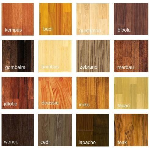 Drewno egzotyczne gatunki
