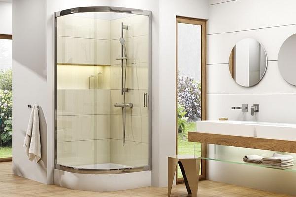 Półokrągłe kabiny prysznicowe - porównanie ofert producentów