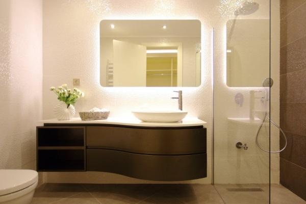 Prawidłowe Oświetlenie łazienki Meble I Akcesoria Wszystko