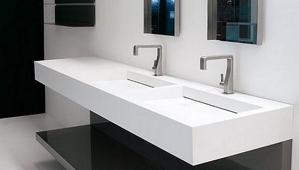 Luxum - umywalka podwójna na wymiar