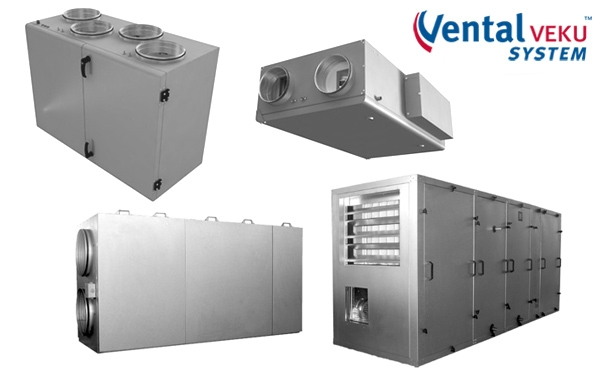 Centrum Klima - rekupertor  VEKU 1000 HE Vental System