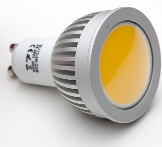 Żarówka LED COB - gwint GU10 (450lm) - SOLED