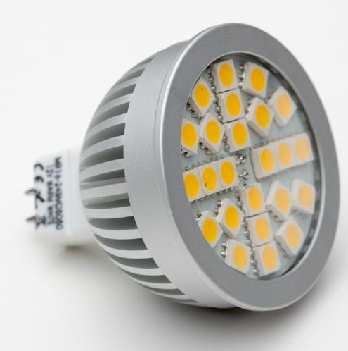 Żarówka LED SMD - gwint MR16 (350lm) - SOLED