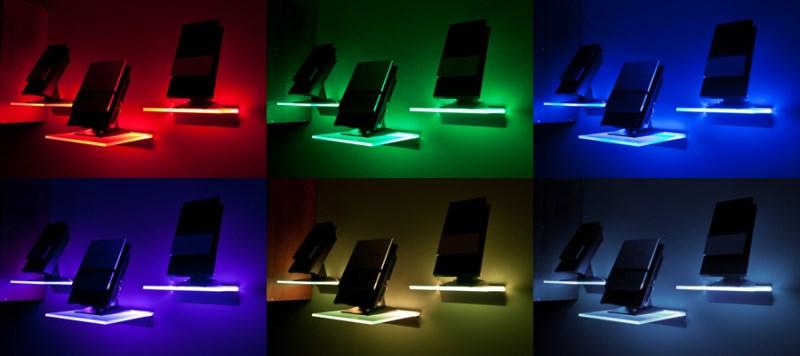 Podświetlana półka LED – producent SOLED