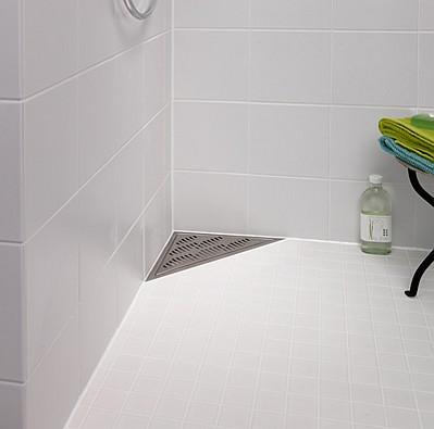 Purus - odwonienia narożne w łazience Corner