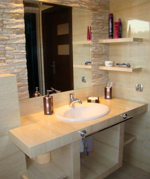 Łazienka bez płytek - co na ściany zamiast glazury - trendy w łazience - :Lazienkaplus ...