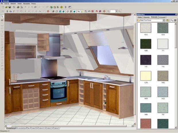 Program do projektowania kuchni PRO 100