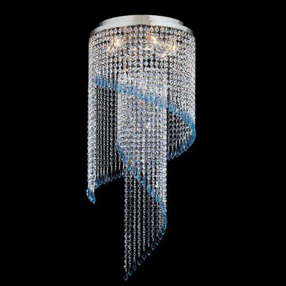 APM MORKOM - Żyrandol kryształowy ART DECO