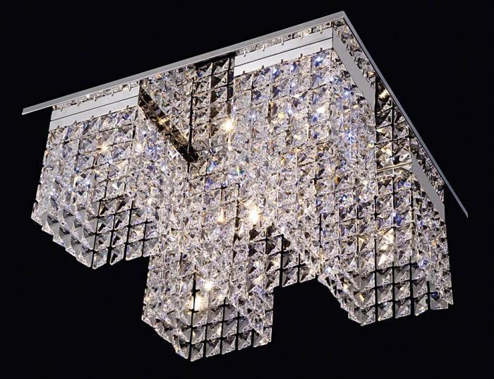 Fashion Light - PLAFON LED LAMPA Z PILOTEM 6049-1