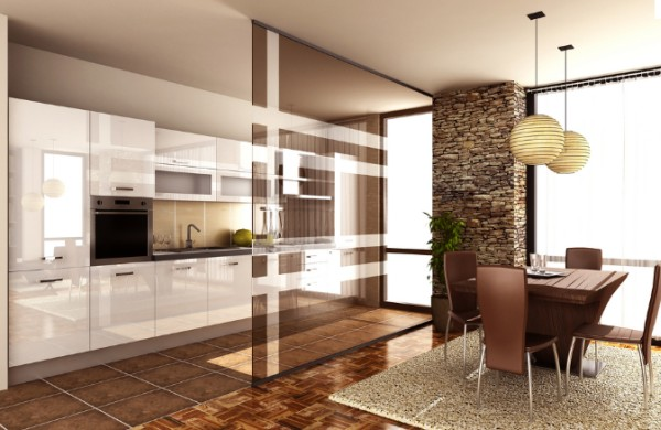 Kuchnia i salon  razem czy osobno  trendy kuchenne   -> Kuchnia A Salon