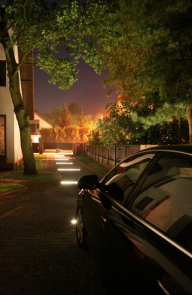 Podświetlenie podjazdu - profil LED, Zastosowanie taśm LED - SOLED