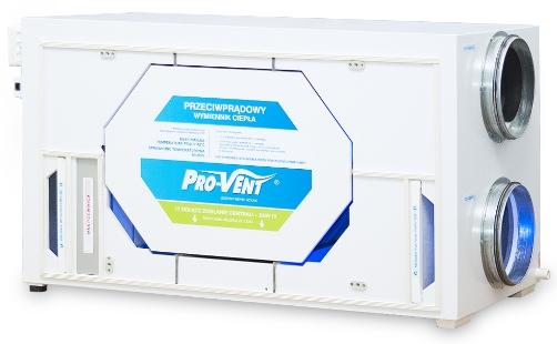 Pro-Vent - rekuperator Mistral Pro 400 EC