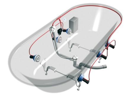 Kaldewei - system Vivo Turbo
