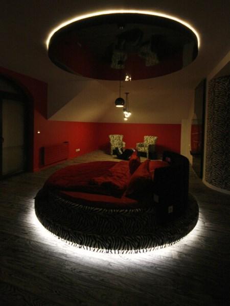 Oświetlenie sypialni, łóżka, Zastosowanie taśm LED - SOLED