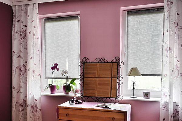 roleta okienna w kuchni